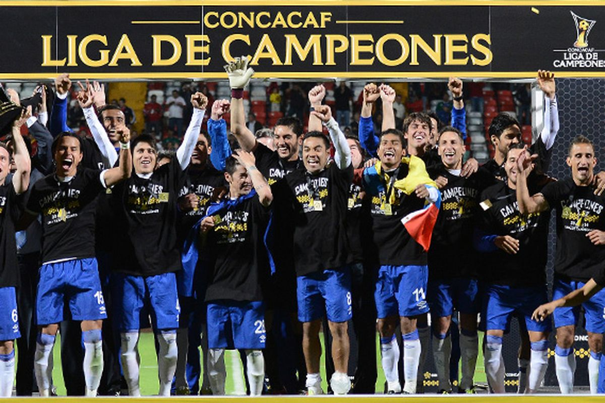 Cruz Azul win their first CONCACAF Champions League  title since 1997