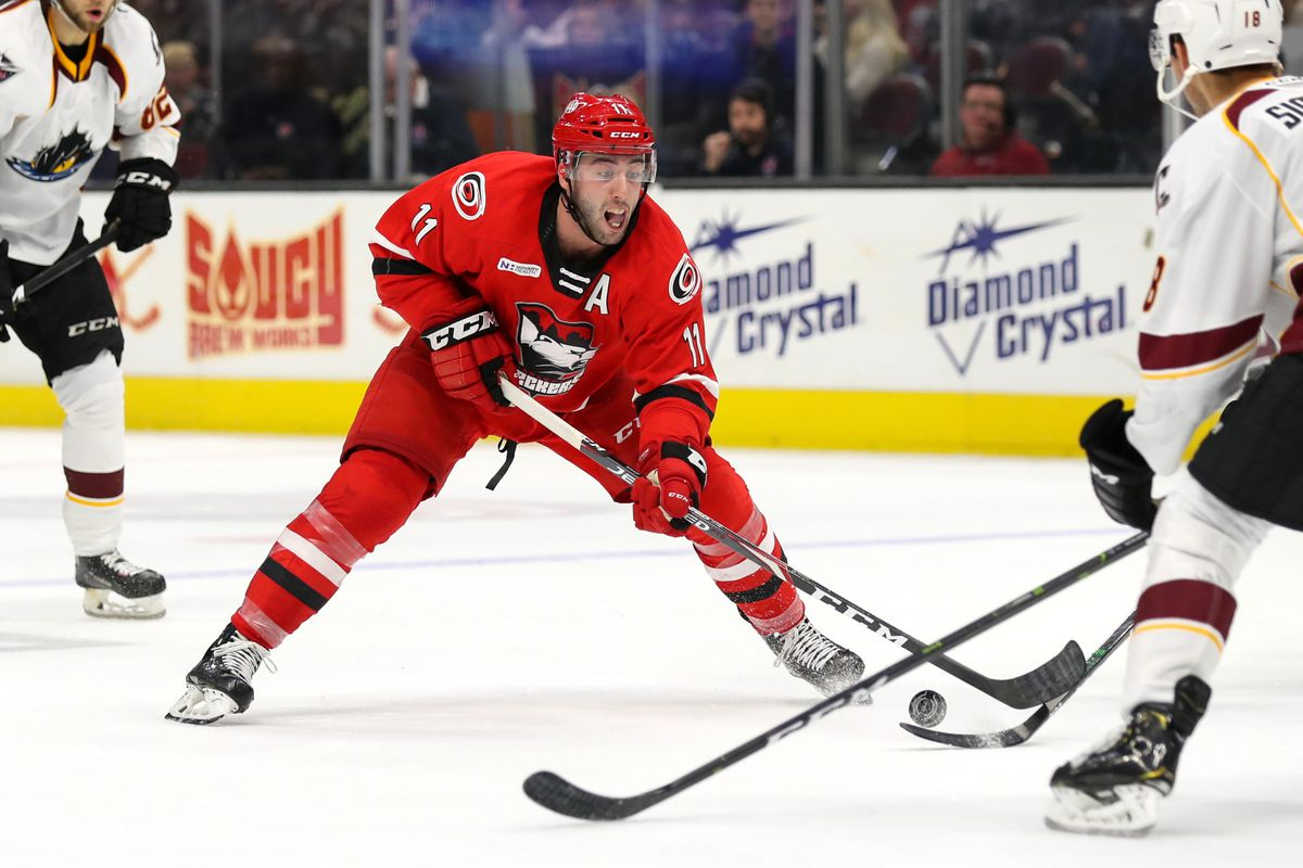 AHL: NOV 03 Charlotte Checkers at Cleveland Monsters