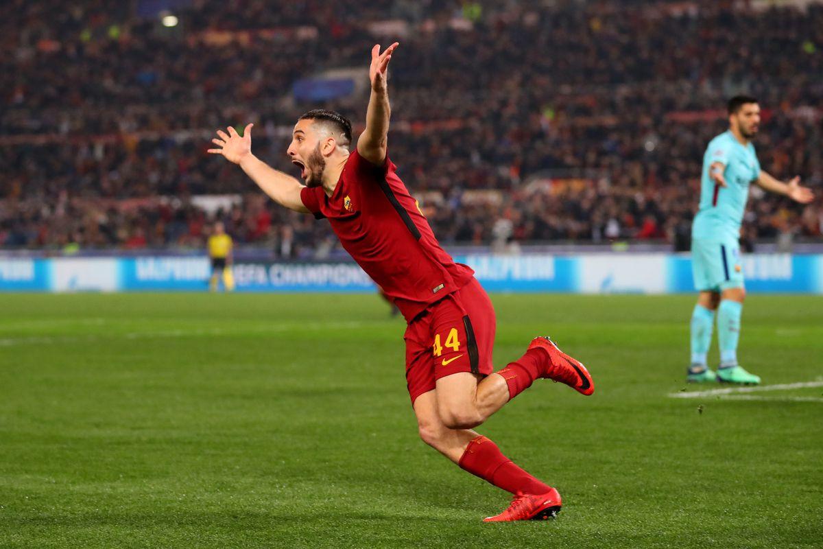 roma vs barcelona uefa champions league art of the goal