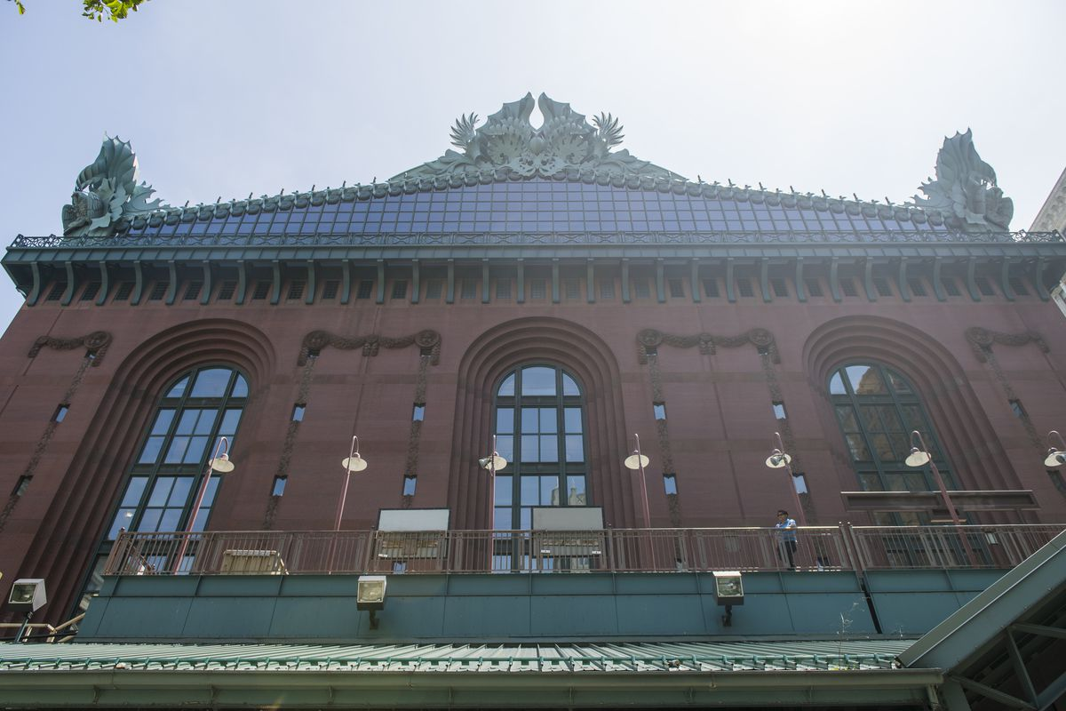 Harold Washington Library in Printers Row in Chicago.   Tyler LaRiviere/Sun-Times