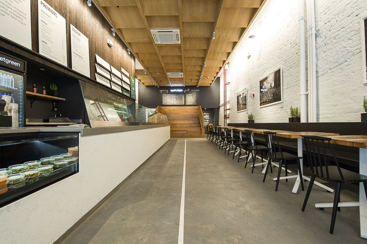 Places like Sweetgreen probably aren't going anywhere anytime soon.