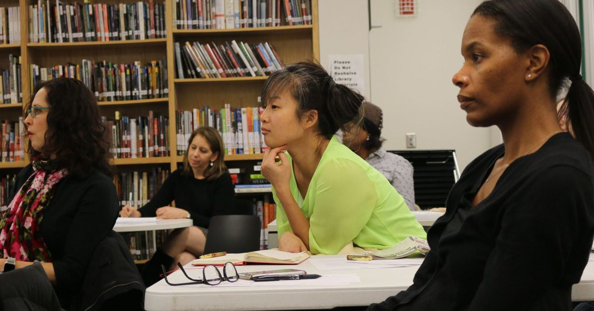 www.chalkbeat.org: I fight for integrated schools in New York City. I'm also Asian-American. Mayor de Blasio, let's talk.