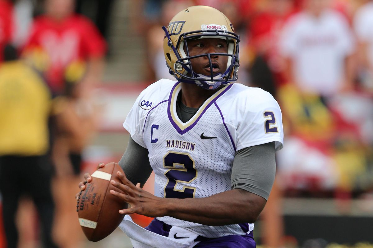 James Madison quarterback Vad Lee and the Dukes host 'College GameDay' next week.