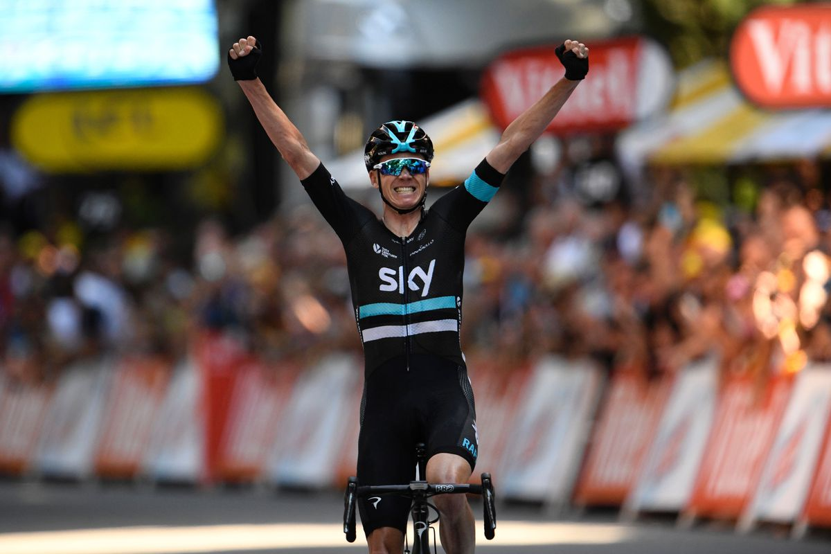 Froome Wins TDF Stage 8