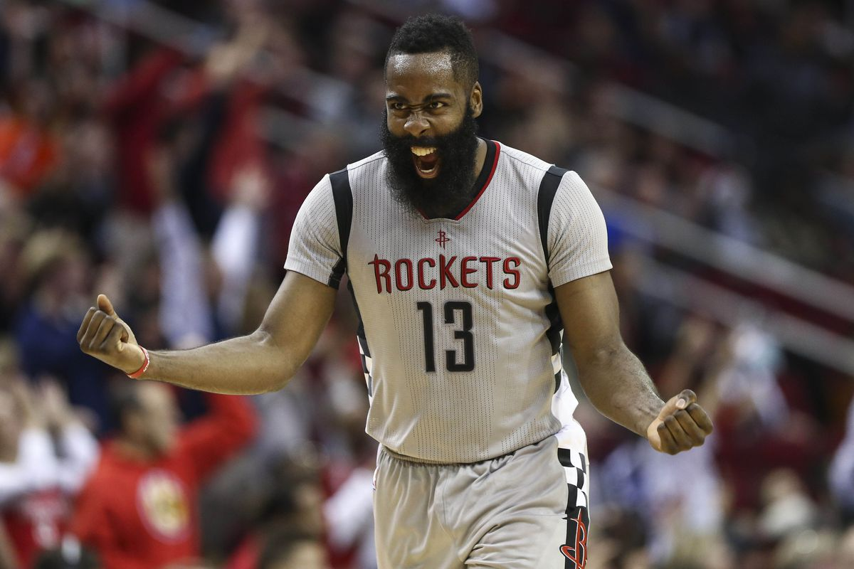 044989b0334 NBA scores 2016  James Harden torches the Clippers for 7th triple-double
