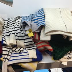 Women's Lad sweaters, $30 to $150