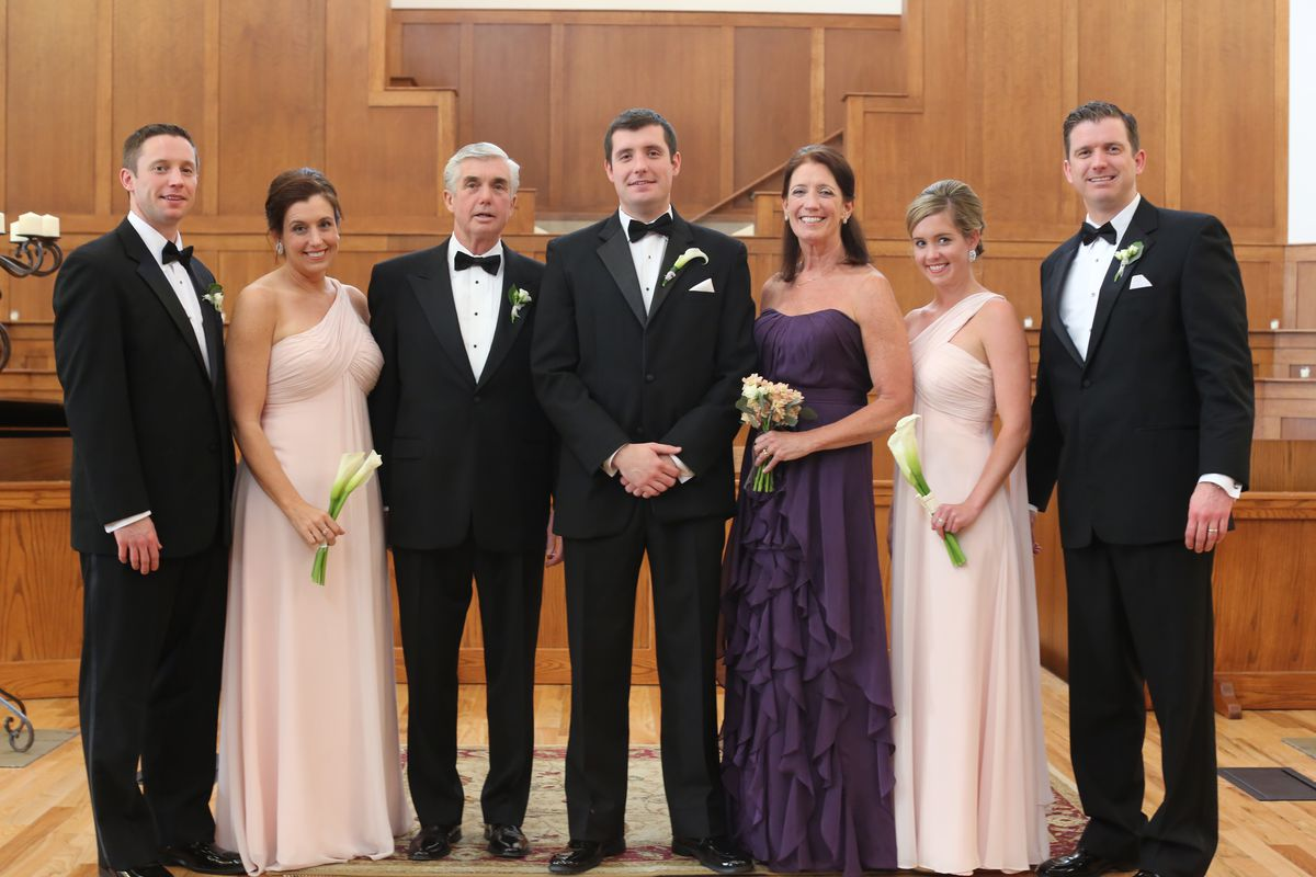 From Brian's wedding in 2013. From left to right: Michael, Maureen, Kevin, Brian, Jane, Mariah, Danny.