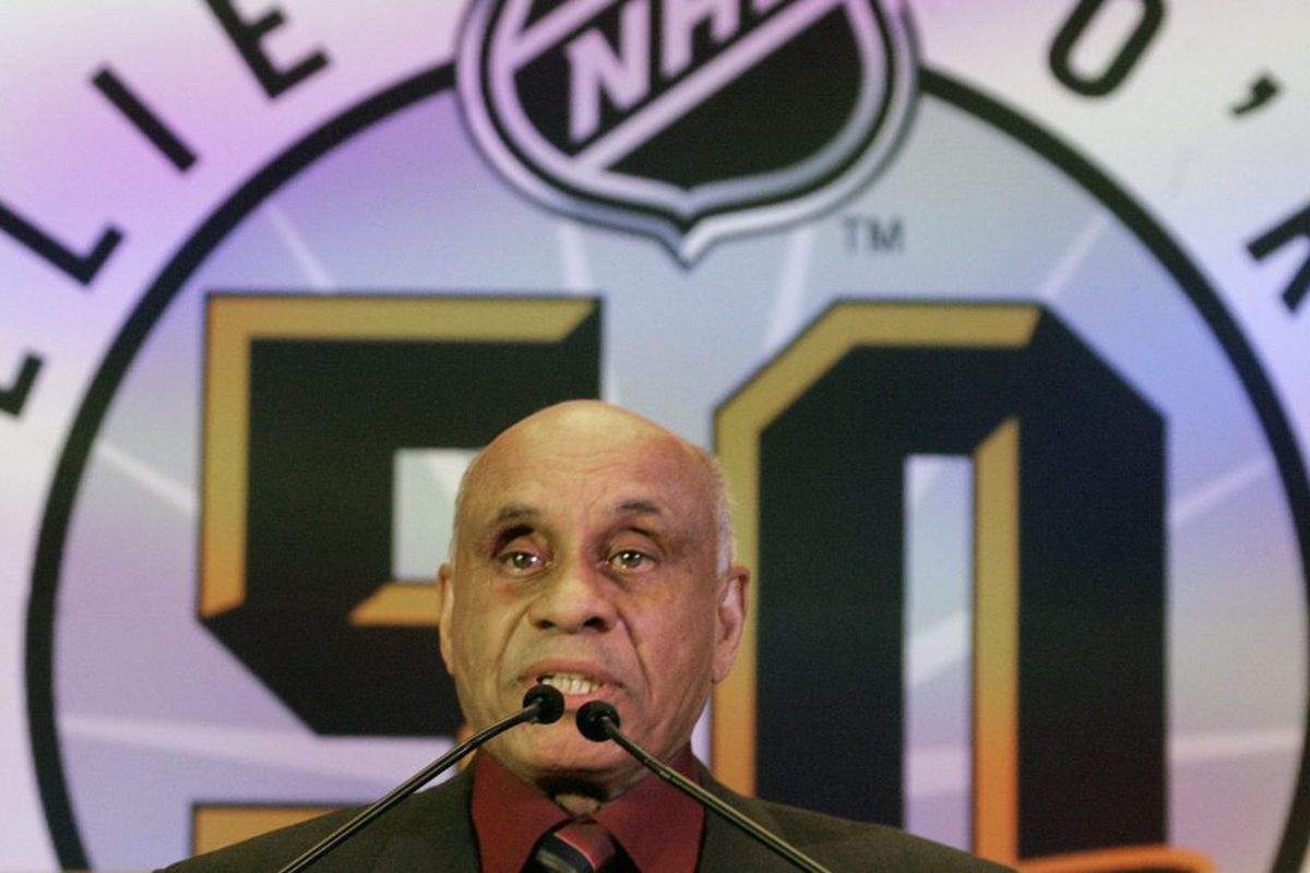Hockey Hall Of Fame Inductees 2018 Willie O Ree Martin Brodeur
