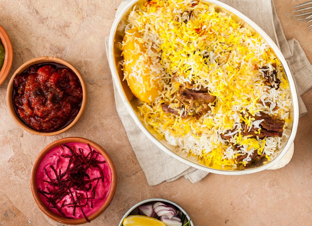 Darjeeling Express's biryani by Chef's Table star and London chef Asma Khan