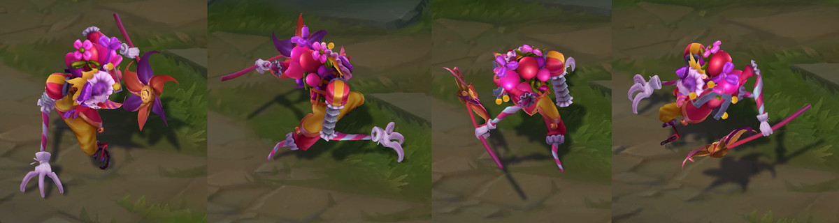 Surprise Party Fiddlesticks' in-game model