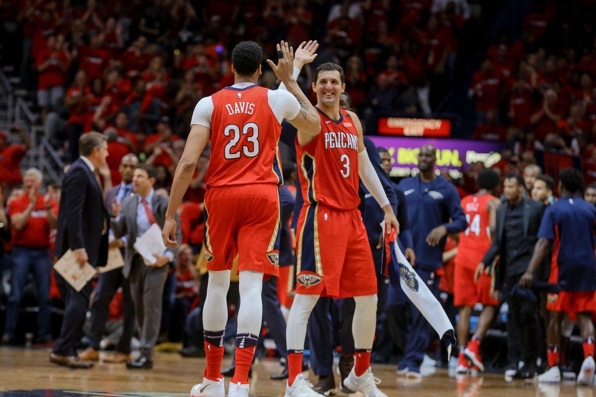 NBA: Playoffs-Portland Trail Blazers at New Orleans Pelicans