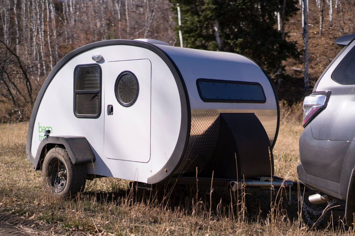 Upscale Teardrop Trailer Is A Tiny Home On The Go Curbed