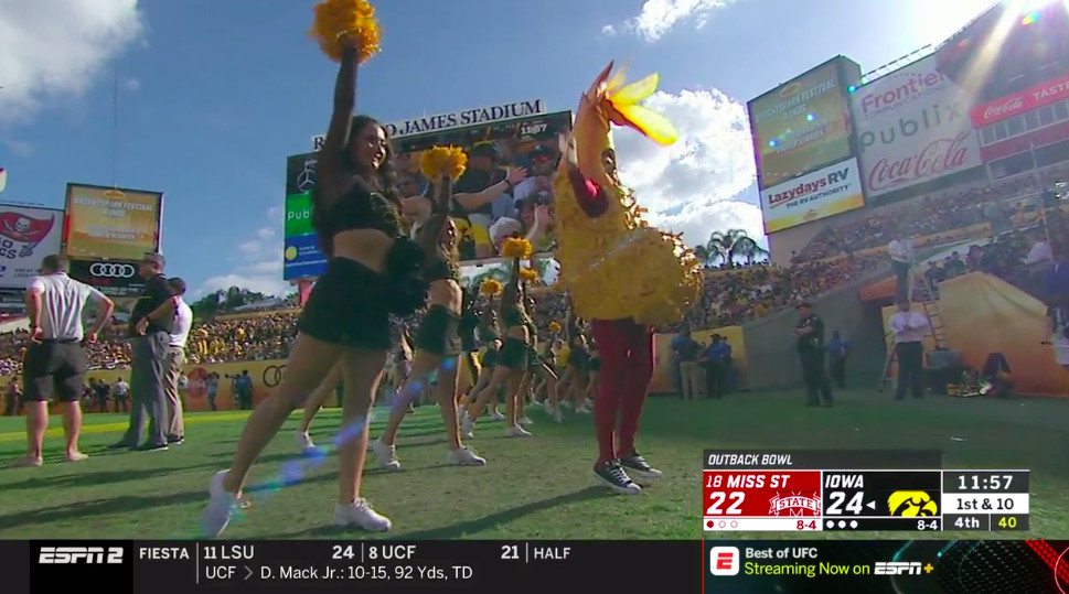 Outback Bowl Food Giveaway 2019