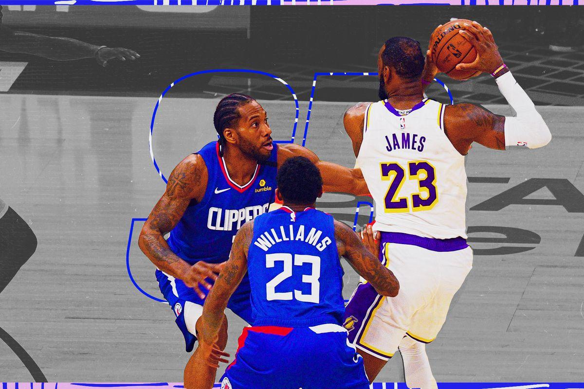 The Lakers Beat Kawhi Leonard And Paul George By Avoiding Them Sbnation Com