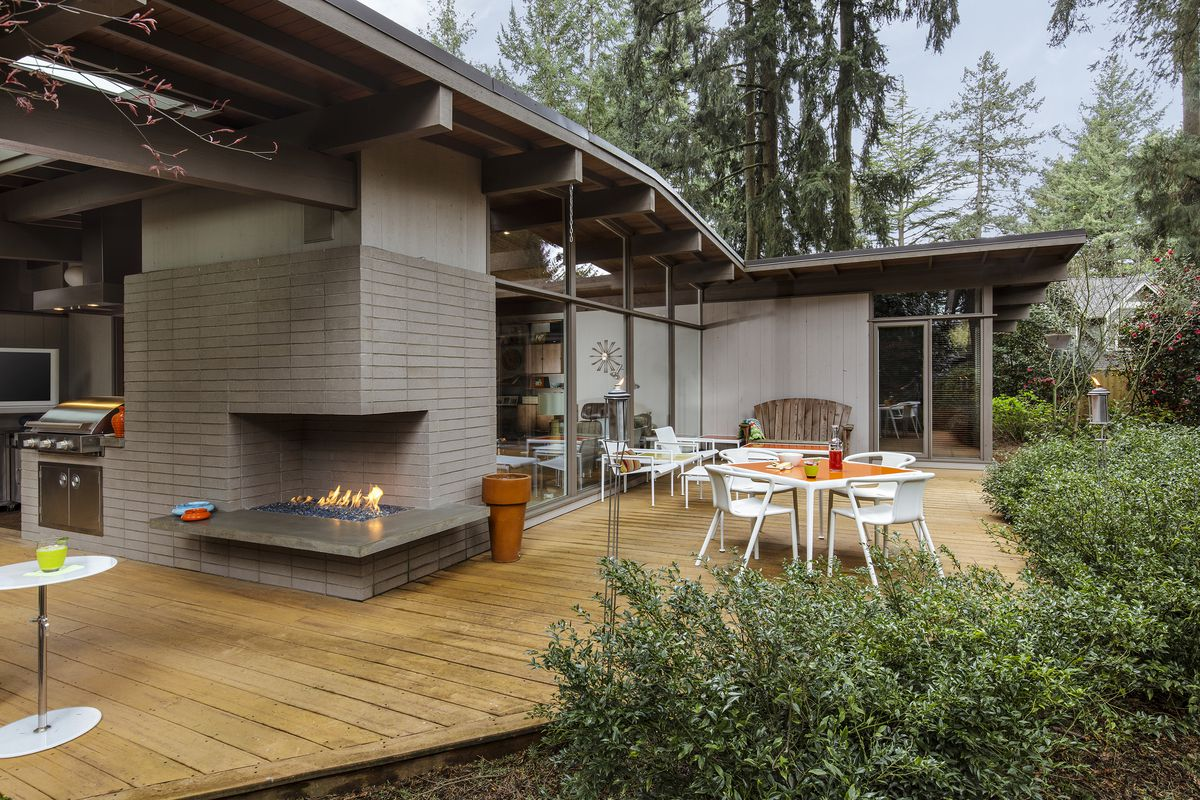 Remaking Midcentury Modern In Portland Curbed