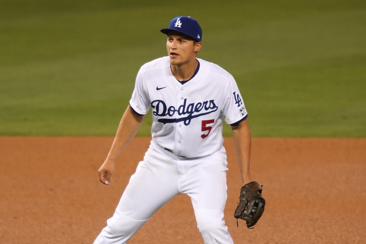 Corey Seager back in starting lineup ...