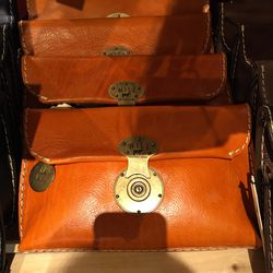 WILL Leather Goods pouch, $135 (from $265)
