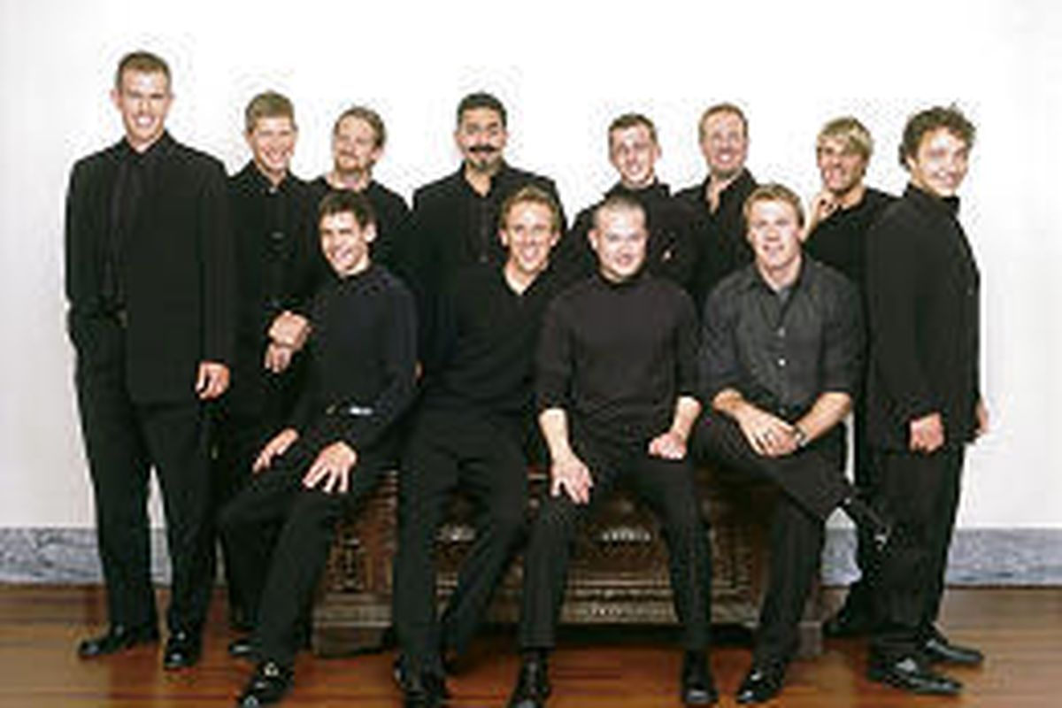 """Chanticleer's """"Women: Saintly and Otherwise"""" tour will stop in Utah this week."""