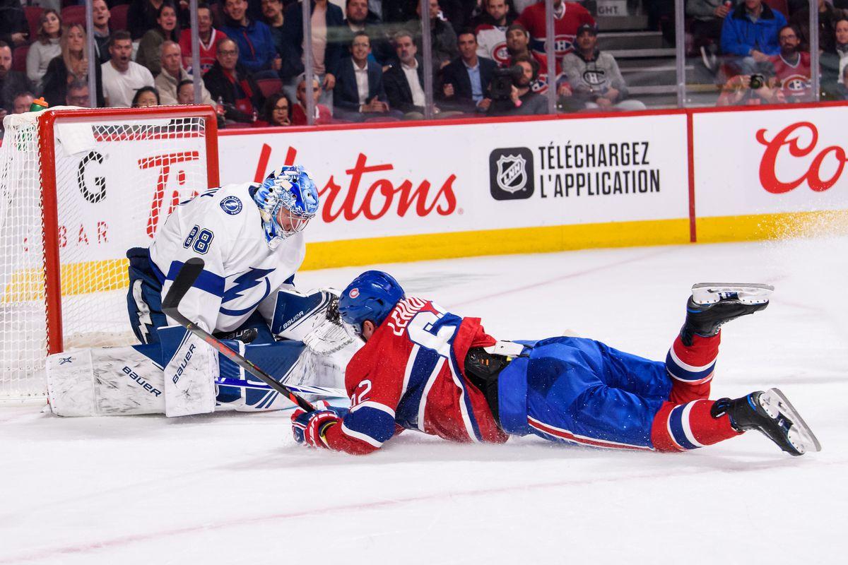 NHL: OCT 15 Lightning at Canadiens