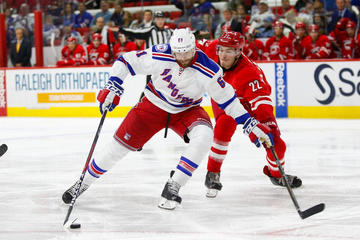 NHL: New York Rangers at Carolina Hurricanes