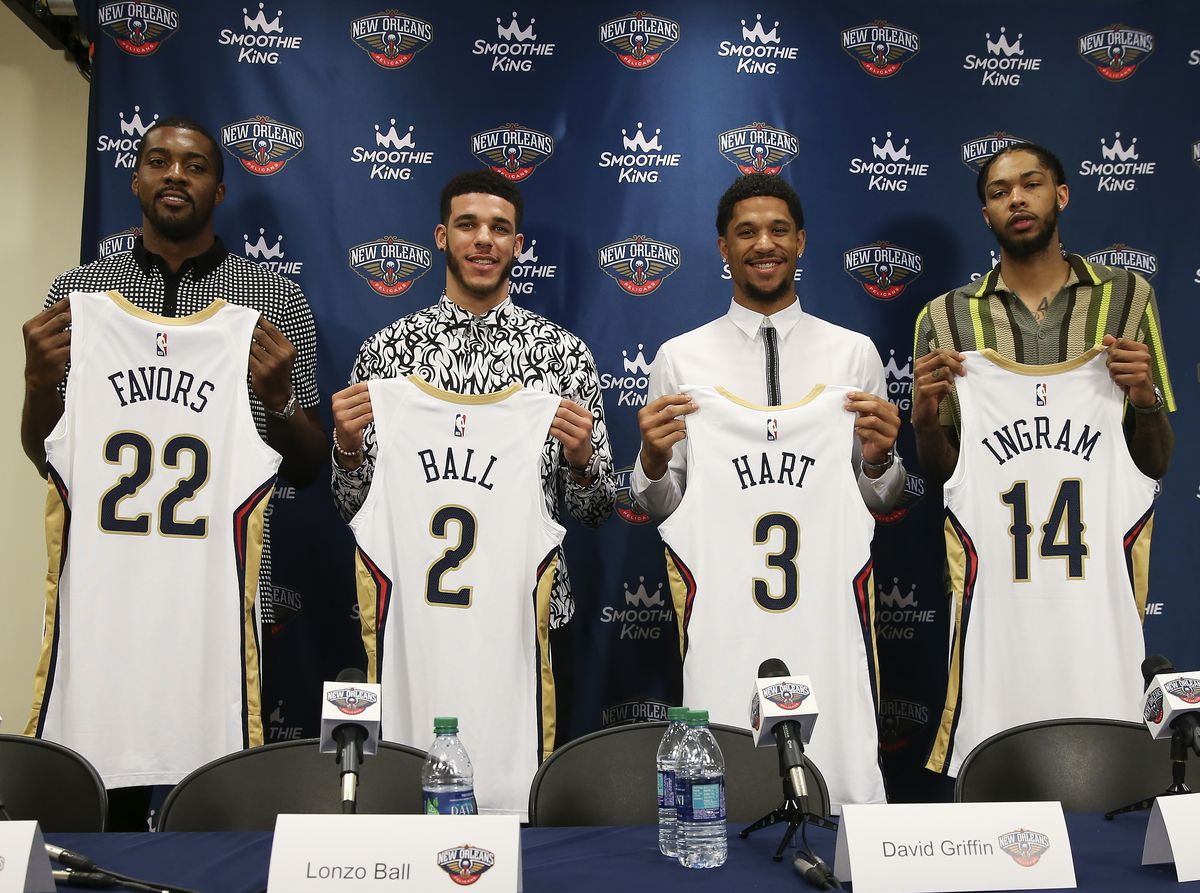 New Orleans Pelicans Introduce New Players