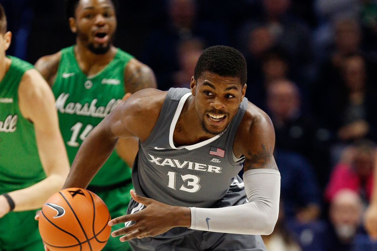 NCAA Basketball: Marshall at Xavier