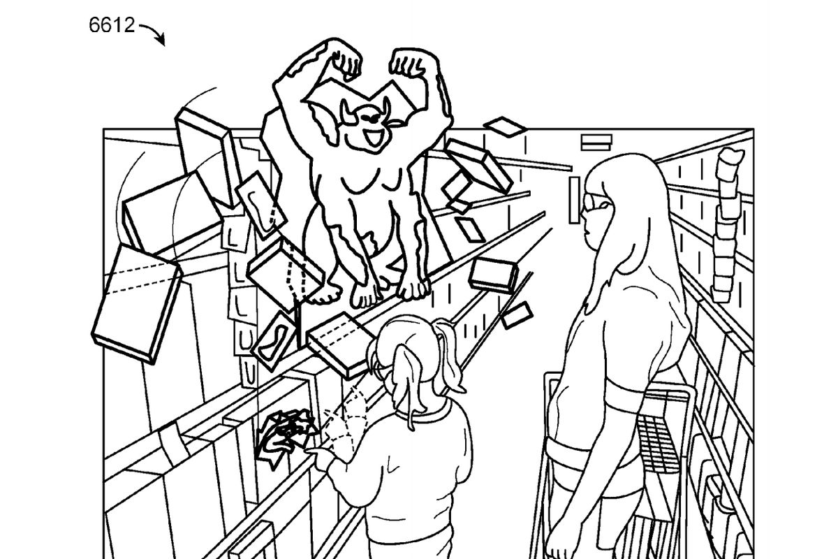see the beautiful nightmarish patent illustrations for a google
