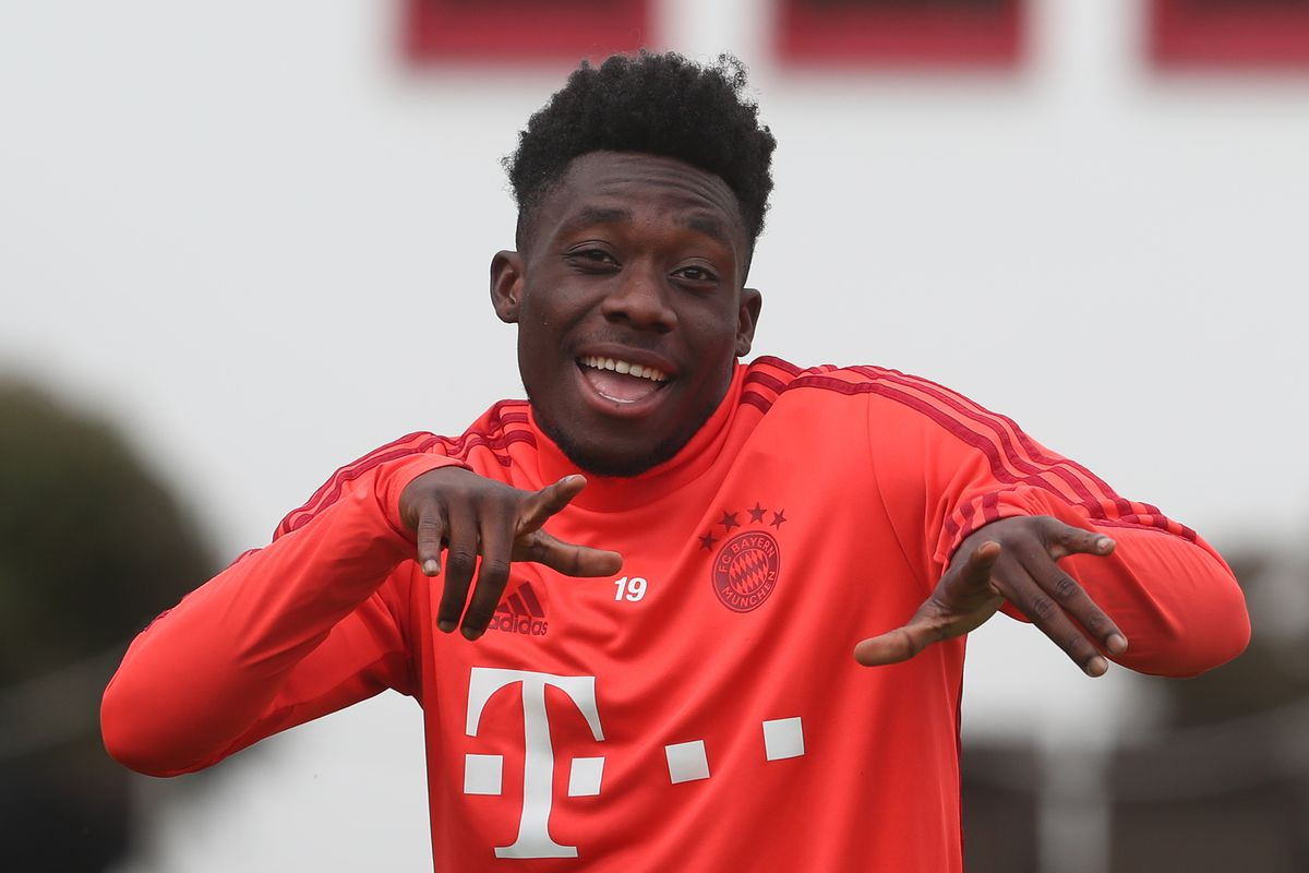 the latest ead7f 7e729 Why Bayern Munich? The two paths of Alphonso Davies and Liam ...