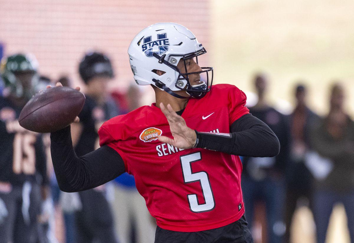 NCAA Football: Senior Bowl Practice