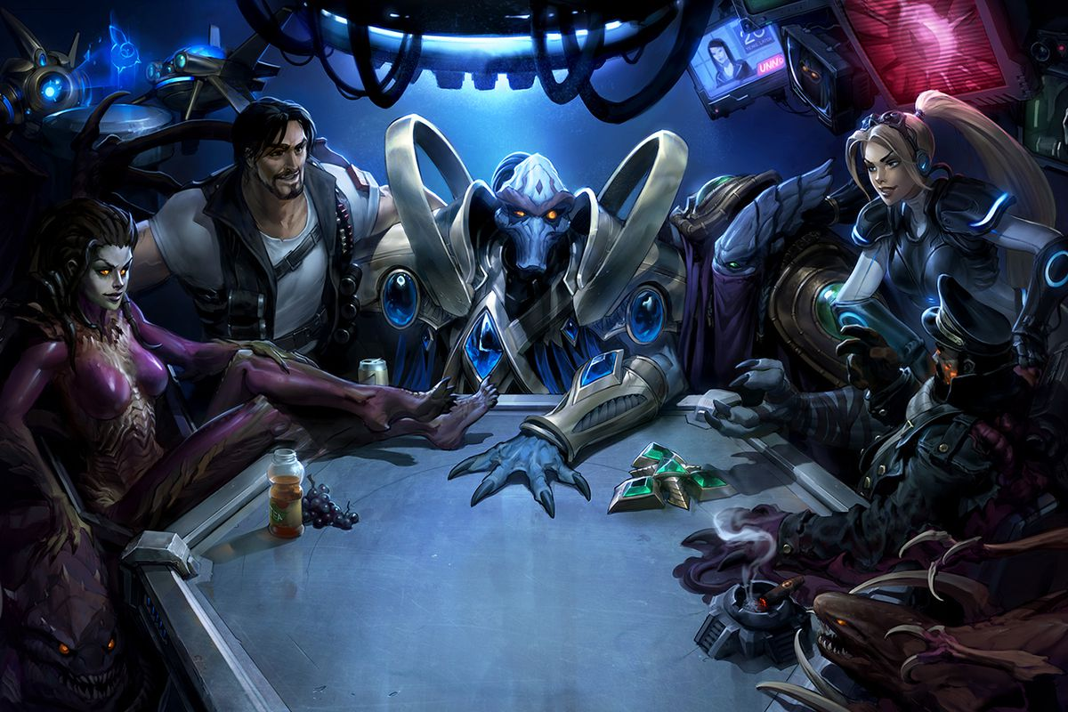 Blizzard celebrates StarCraft's 20th anniversary with in