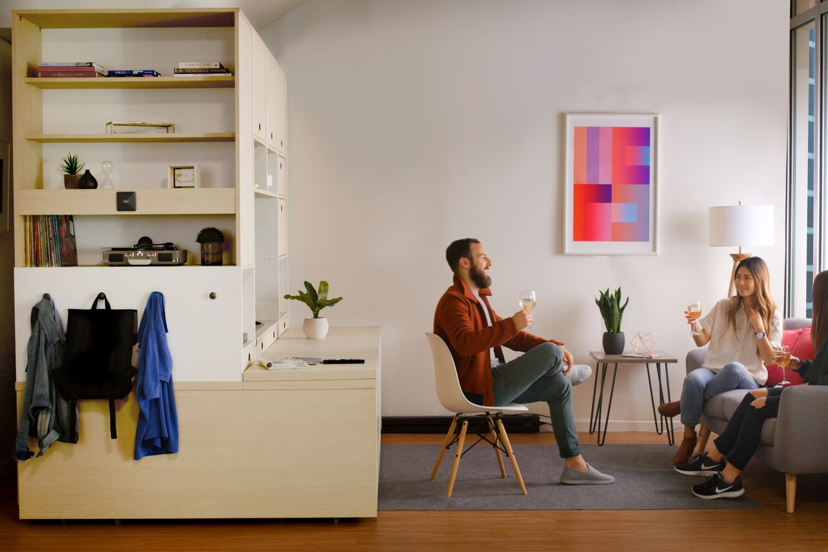 Ori robotic furniture system transforms small apartments - Curbed