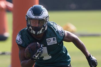 7ae34e9f01f NFL insider gives sneak peek at which six wide receivers the Eagles might  keep