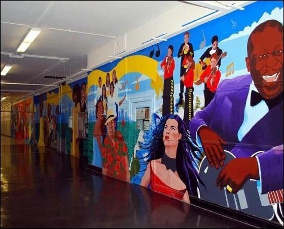 Kelvyn Park High School mural. | Provided photo