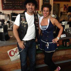 Bayou Bakery's David Guas and Sara Siegel.