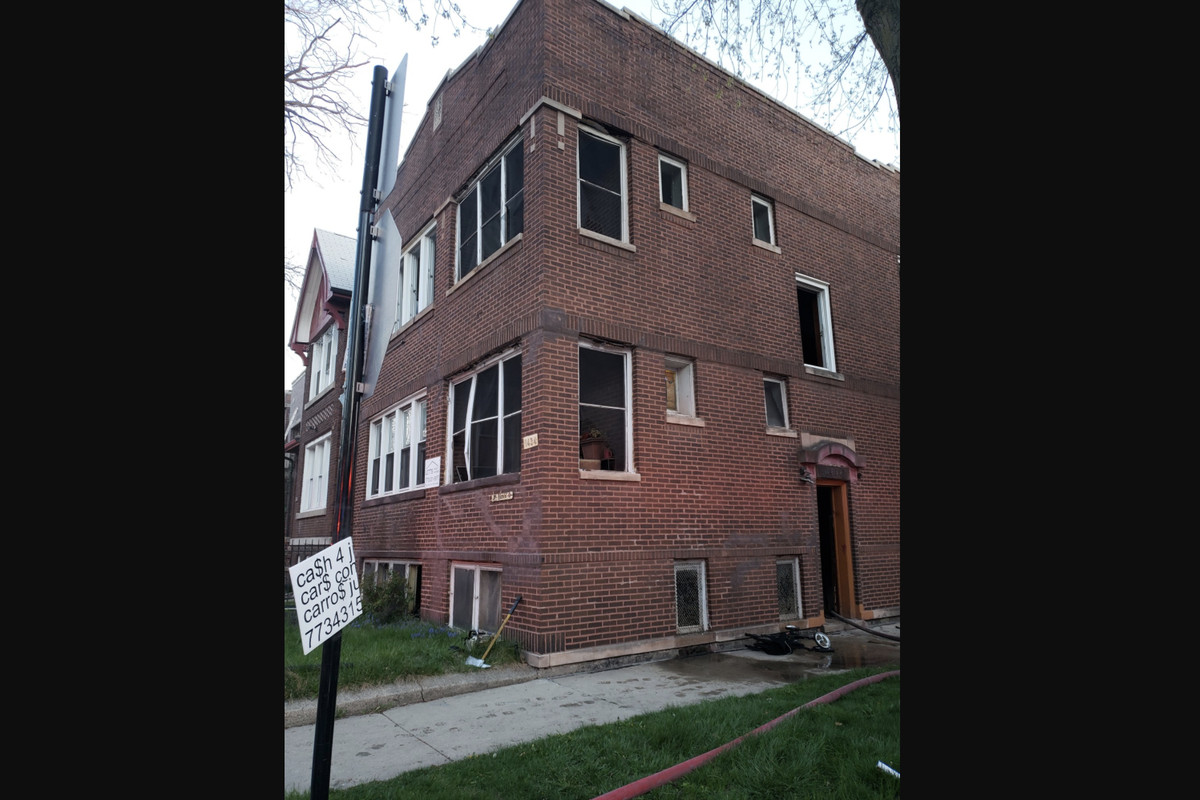 Two people died in a fire April 16, 2021 in Back of the Yards.