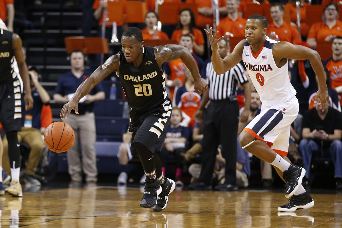 Oakland guard Kay Felder is the Horizon League's player of the year.