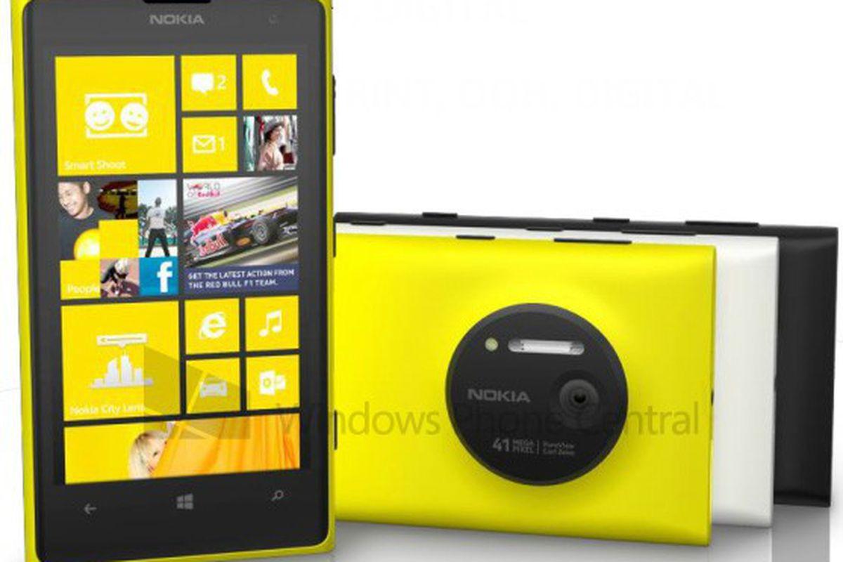 Lumia 1020 render WP Central
