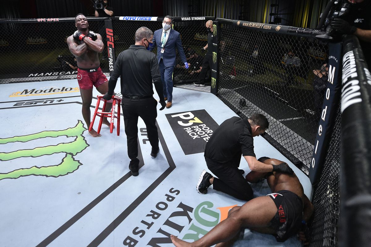 UFC Vegas 9 video: Ovince Saint Preux face plants Alonzo Menifield with brutal one-punch knockout - MMA Fighting