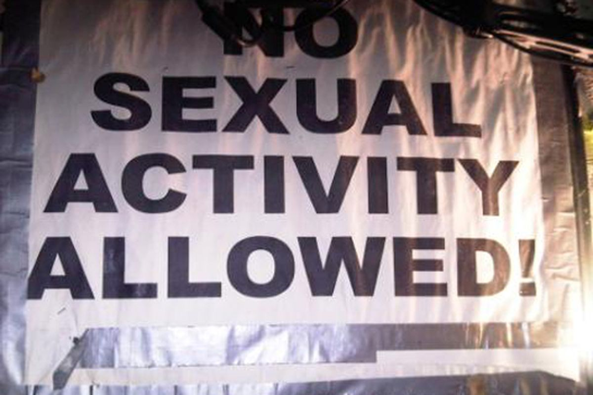 """Image via <a href=""""http://www.terrysdiary.com/post/651223308/no-sexual-activity-allowed"""">Terry's Diary</a>"""