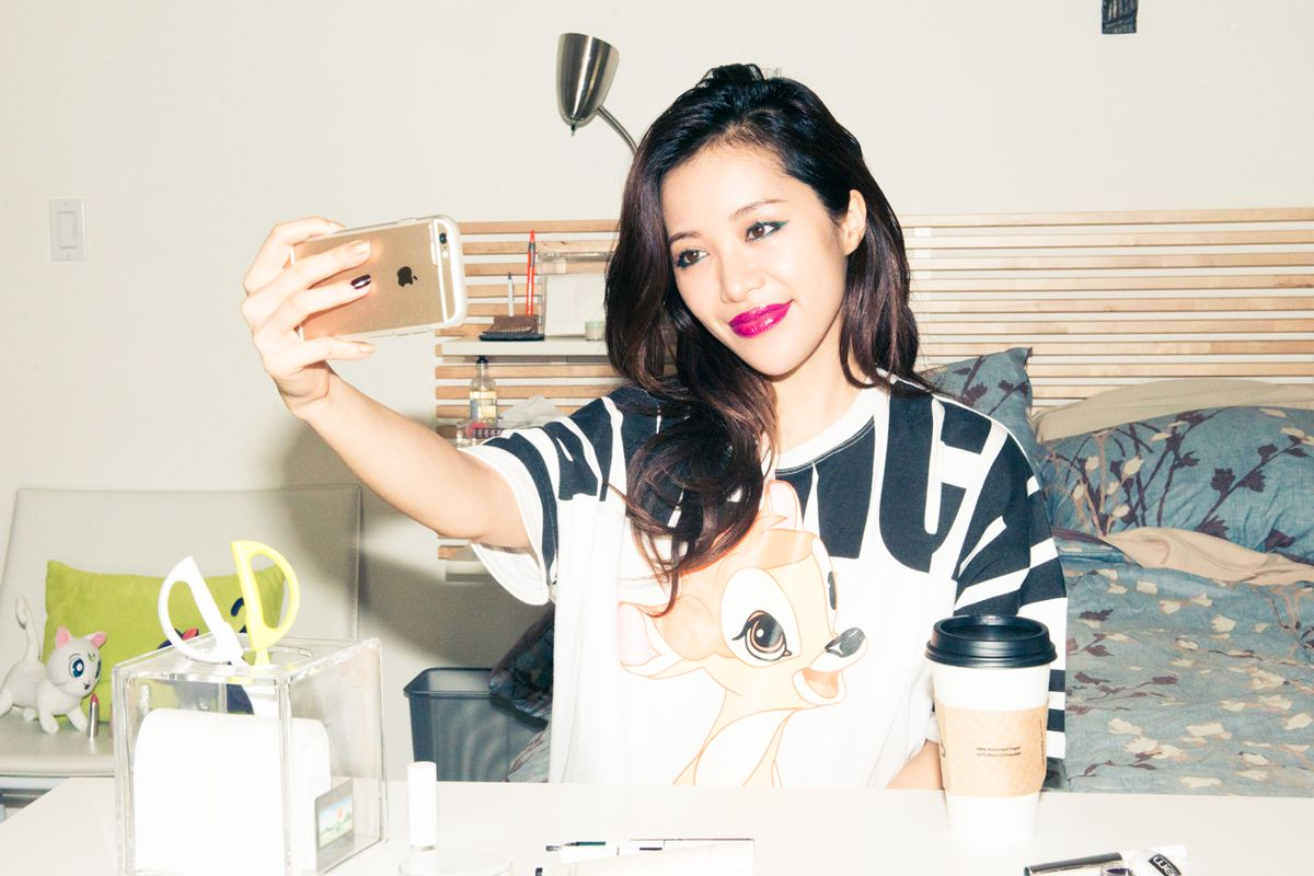 """Photo: <a href=""""http://www.thecoveteur.com/michelle-phan-youtube/"""">The Coveteur</a>"""