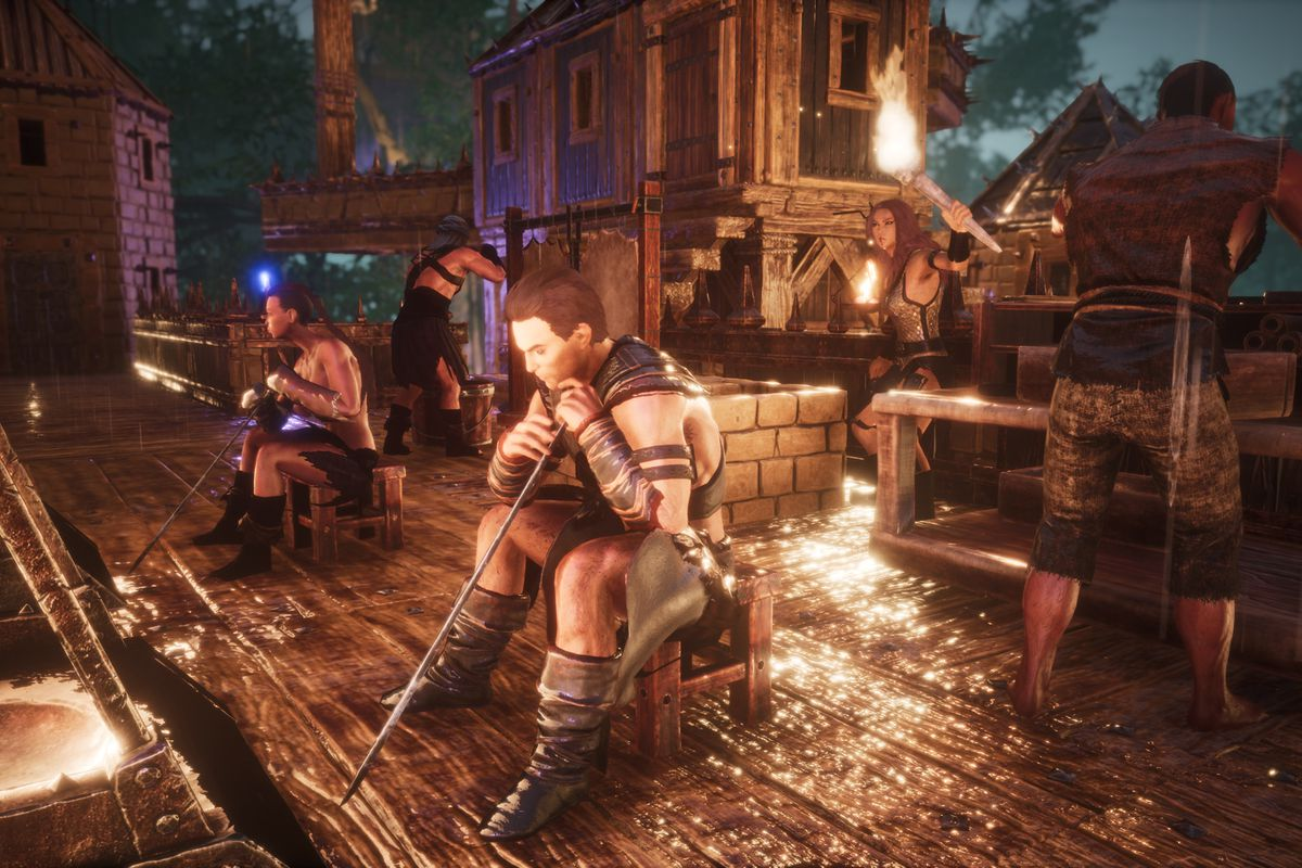 Conan Exiles celebrates birthday with free update, Schwarzenegger