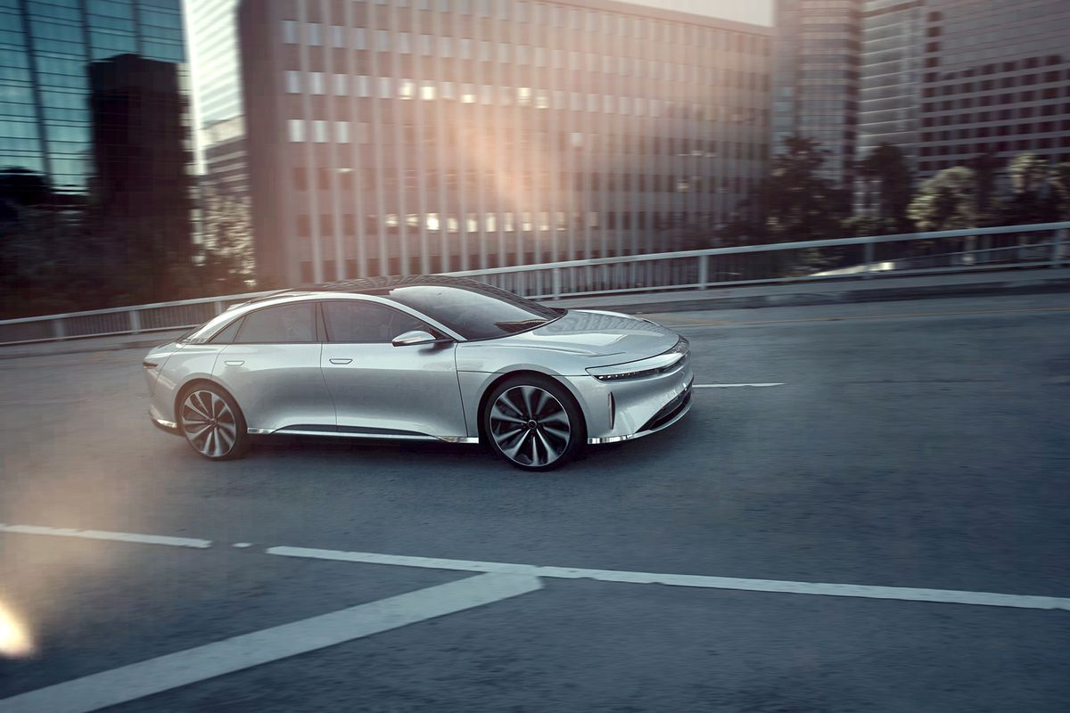 Electric Car Startup Lucid Motors Is Short Of Cash And Weighing Its Options