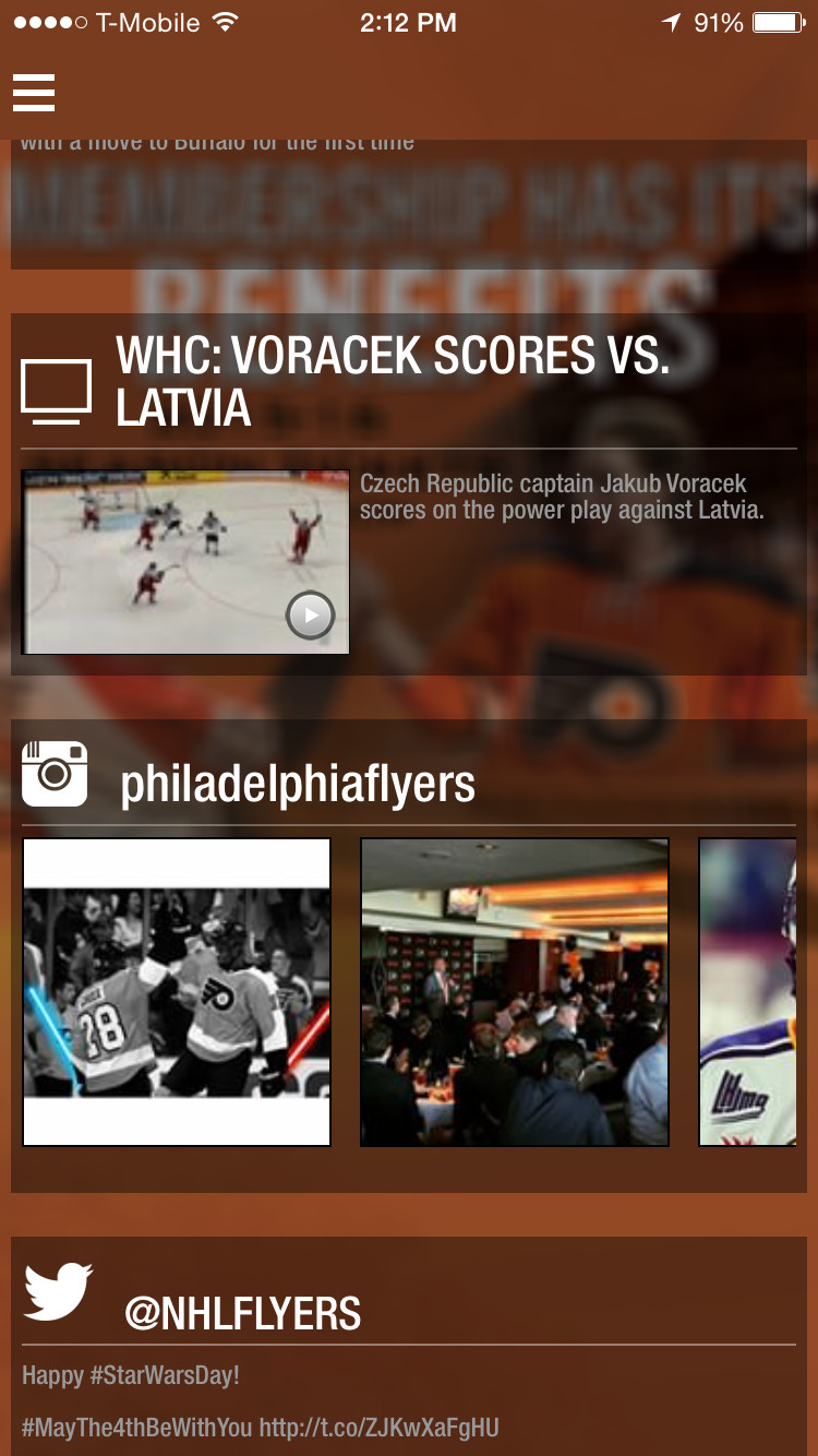 philadelphia flyers to debut new mobile app this summer broad