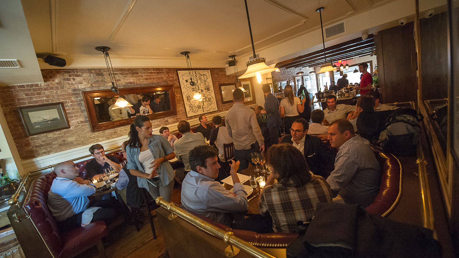 Perla Rolls Out 35 Three Course Lunch Prix Fixe Eater Ny