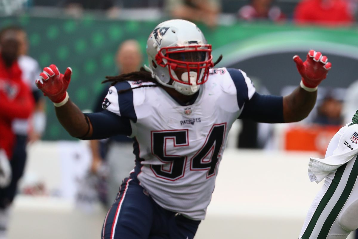 Patriots LB Dont a Hightower dealing with shoulder AND pec muscle