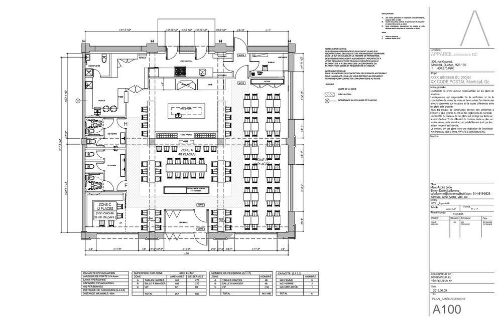 All photos, plans courtesy Appareil Architecture