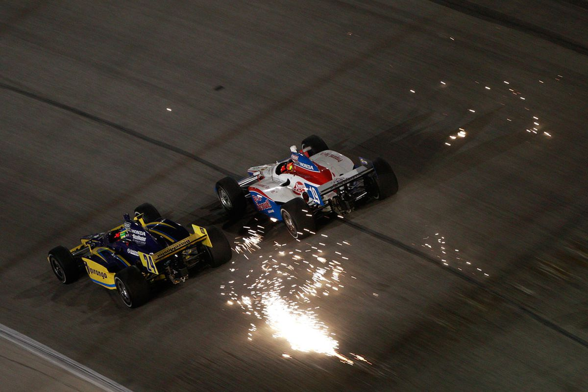 """Texas has provided a spark for INDYCAR in one way or another since 1973. Now, the state could end up being home to a """"triple crown"""" of INDYCAR events in 2013.  (Photo by Chris Graythen/Getty Images)"""