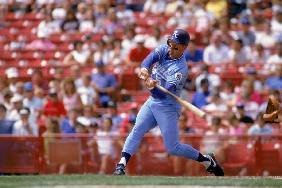 George Brett in Blue