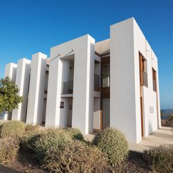 """The <a href=""""http://casas.iter.es/bernoulli/en"""">Bernoulli house</a> sleeps 6 and uses flying buttresses to channel the evacuation of hot air."""