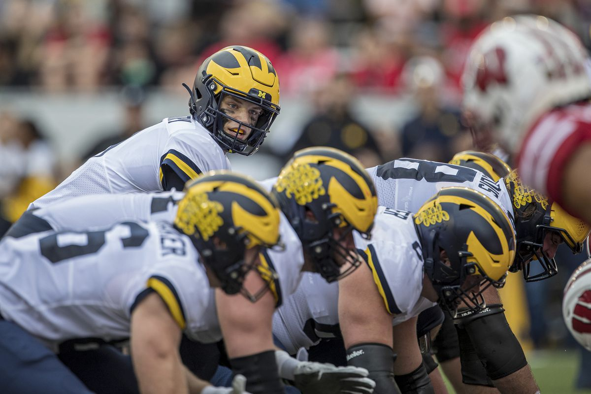 COLLEGE FOOTBALL: OCT 02 Michigan at Wisconsin